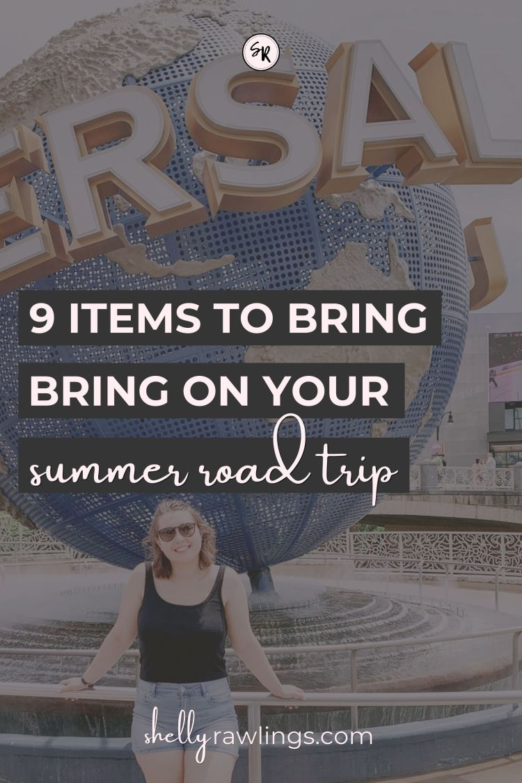 9 Items To Bring On Your Summer Road Trip | ShellyRawlings.com