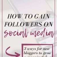 3 Ways New Bloggers can Grow a Meaningful Social Media Following