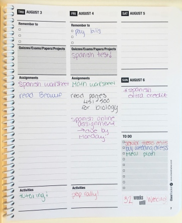 The Ultimate Student Planner from ClassTracker on Michelle Adams Blog