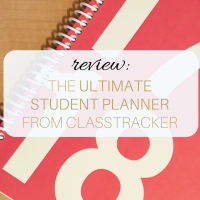 Review: Ultimate Student Planner from ClassTracker