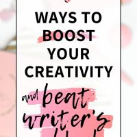 5 Ways to Boost Your Creativity and Beat Writer's Block