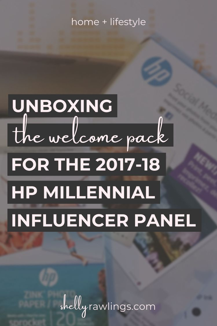Unboxing the Welcome Package for the 2017-18 HP Millennial Influencer Panel | Home + Lifestyle | Read more at ShellyRawlings.com
