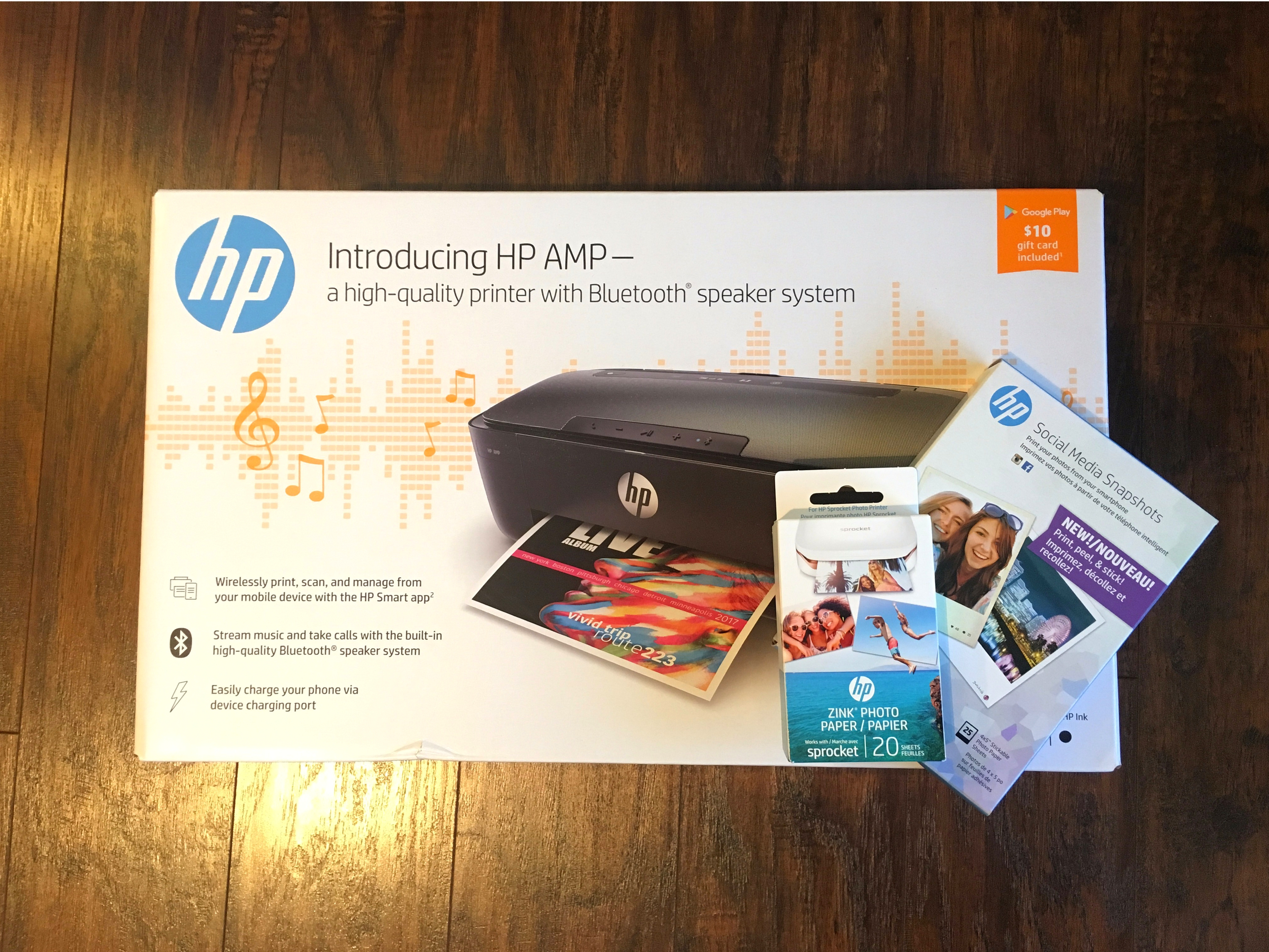 Unboxing the Welcome Package for the 2017-18 HP Millennial Influencer Panel | Michelle Adams Blog