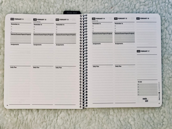 ClassTracker Ultimate Student Planner: College Edition 2018-19 | Michelle Rawlings Blog