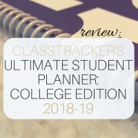 Review: ClassTracker's 2018-19 Ultimate Student Planner: College Edition