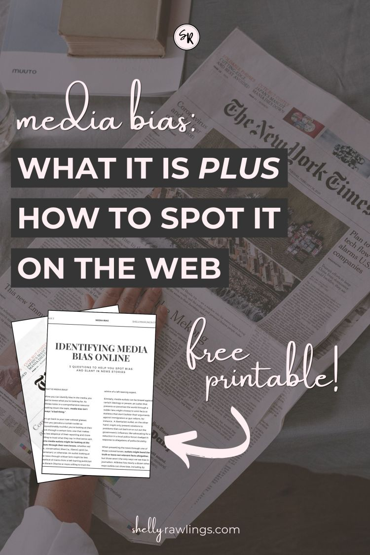 What Is Media Bias? | 5 Questions To Help You Identify Bias in a News Story | ShellyRawlings.com